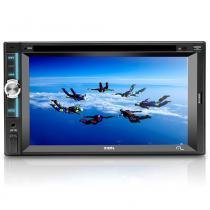 DVD Automotivo Multilaser Zion LCD 6.2 Entrada Auxiliar USB, SD,CD/DVD Player P3307 - Multilaser