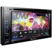 """DVD Automotivo Pioneer AVH-288BT Tela 6,2"""" - Bluetooth 92 Watts RMS Entradas para Câmera de Ré"""