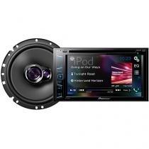 "DVD Automotivo Pioneer AVH-298BT 6.2"" Touch - Bluetooth 23W RMS + Alto-falante"