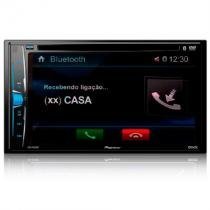 """DVD Automotivo Pioneer AVH-A208BT, Preto, Tela de 6.2"""", Bluetooth, USB -"""