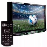 "DVD Automotivo Pioneer AVH-X598TV, Preto, Tela de 7"", Bluetooth, TV digital - Pioneer"