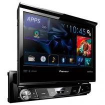 "DVD Automotivo Pioneer AVH-X7880TV Tela 7"" - Retrátil Bluetooth 23 Watts RMS Entrada USB"
