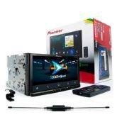 DVD Automotivo, Pioneer, AVH-Z5080, TV Digital, USB, Bluetooth -