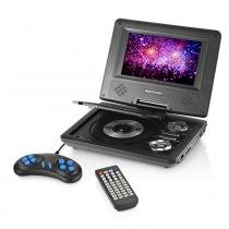 Dvd Automotivo Portatil Leitor de Mp3 e Mp4 - Multilaser MUL-062 -