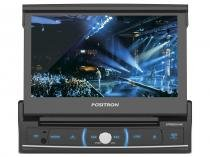"DVD Automotivo Pósitron SP6520LINK LCD 7"" Retrátil - Touch Bluetooth 180W RMS USB SD Auxiliar Frontal"