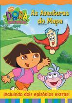DVD Dora A Aventureira - As Aventuras Do Mapa - 952988