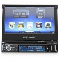 Dvd gps multilaser retratil 7 pol pt -