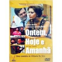 DVD Ontem, Hoje E Amanhã - Sophia Loren, Marcello Mastroianni - 953098
