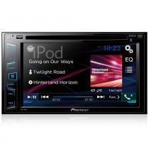 "DVD Player 6 -2"" 2 DIN Pioneer AVH-288BT - Bluetooth USB iPod -"