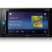 "DVD Player Automotivo 6,2"" AVHA208BT Preto Pioneer -"