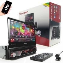 Dvd player automotivo avh-4880bt 7 polegadas bluetooth usb pioneer - Pioneer