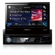Dvd player automotivo avh-x7880tv 7 polegadas entrada usb traseira tv digital integrada pioneer - Pioneer
