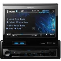 "DVD Player Automotivo com Tela de 7"" Retrátil Pioneer AVH-5480DVD -"