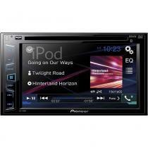 DVD Player Automotivo  DVD, USB, AM e FM AVH-288BT Preto Pioneer - Pioneer