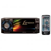 DVD Player Automotivo Lenoxx 4.3 Pol AD2610 FM Estéreo CD USB Cartão SD e MP3 - Lenoxx