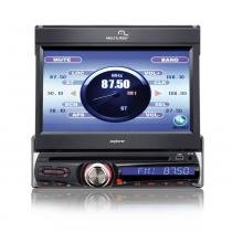 "DVD Player Automotivo Multilaser Tela 7"" TV GPS USB Aux Am/FM - P3156 - Neutro - Multilaser"