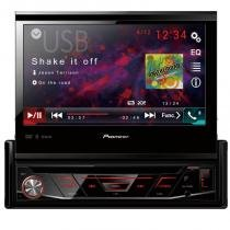"DVD Player Automotivo Pioneer AVH-3180BT Tela Retrátil de 7"" Bluetooth USB Entrada Auxiliar -"