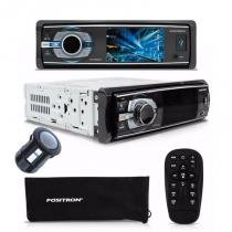 DVD Player Automotivo Positron 4330 com bluetooth camera de ré -