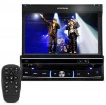 DVD Player Automotivo Positron SP6300AV 1 Din 7 Pol Retrátil Touch USB SD AUX MP3 CD AM FM -