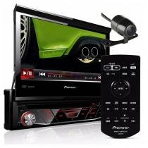 Dvd Player carro Automotivo Pioneer Avh-3880dvd Retrátil Usb MP3 com câmera de ré - Pioneer