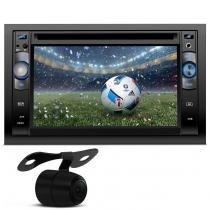 DVD Player Central Multimídia Audioart AR-900 7 Polegadas 2 Din MP3 USB GPS SD TV + Câmera de Ré - Audioart
