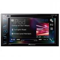 DVD Player com Rádio AM/FM/USB e Bluetooth AVH-298BT Pioneer -