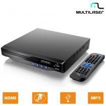 DVD Player Com Saída HDMI 5.1 Canais, USB, Karaokê SP193 - Multilaser - Multilaser