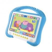 DVD Player Kids Peppa Pig 7 Polegadas USB K-3600 - Tectoy - Tectoy