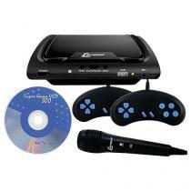 DVD Player Lenoxx DK 419 Função Karaokê  - Conexão USB Microfone
