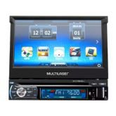"DVD Player Multilaser Extreme, Preto, GP044, Tela de 7"", GPS, Bluetooth -"