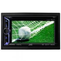 DVD Player Multimídia JVC KW-V30BT 6,1 Touchscreen CD DVD USB BLUETOOTH - Kenwood