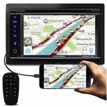 DVD Player Multimídia Pósitron SP8920 Bluetooth USB SD TV GPS Função RBS Espelhamento Celular - Positron