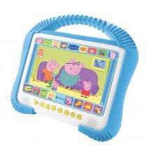 "DVD player PEPPA PIG Kids portátil tela 7"" USB decodificador dolby digital leitura de MP3 Tectoy - Tectoy"