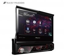 Dvd Player Pioneer 7 Avh4880 Bt Usb Bluetooth Retrátil -