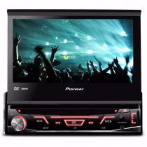 Dvd Player Pioneer Avh-3880dvd Com Tela Retrátil De 7 Radio - Auto Mais