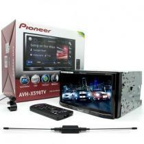 Dvd Player Pioneer Avh-x598tv Tv Digital Bluetooth MIxtrax usb Tela 7 polegadas -