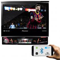 DVD Player Pioneer AVH-X7880TV 7 Polegadas Retrátil 1 Din Tv Digital Bluetooth USB AUX Mixtrax - Pioneer