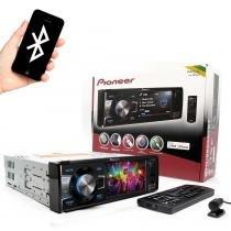 Dvd player pioneer dvh-8880avbt 3.5 polegadas usb entrada auxiliar frontal - Pioneer