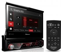 Dvd Player Pioneer Retratil Avh-3880dvd Usb Frontal Auxiliar Controle remoto -