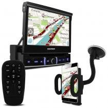 DVD Player Positron SP6520 TV USB Bluetooth Espelhamento Celular + Suporte Universal Celular e GPS - Linha Prime