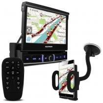 DVD Player Positron SP6520 TV USB Bluetooth Espelhamento Celular + Suporte Universal Celular e GPS - Prime