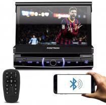DVD Player Pósitron SP6720 DTV Retrátil 7 Polegadas Touch Bluetooth USB TV Digital - Positron