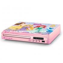 DVD Player Princesas Disney Tectoy Compact -