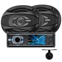 DVD Positron SP4330BT + Alto Falante APQ-6940 + Câmera Ré - Pósitron