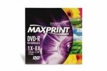 DVD-R 4.7 Gb 8x Envelopado - Maxprint - 1