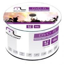 DVD-R 4.7GB Multilaser 16X COM 50 SHRINK - DV061 - Multilaser
