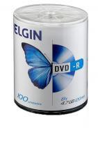 Dvd-r 47 gb 8x / 16x 120 min elgin com 100 - Elgin