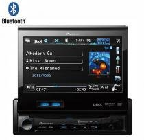 DVD Retrátil Pioneer AVH-P6350 Bluetooth, USB, SD Entrada AUX - Pioneer