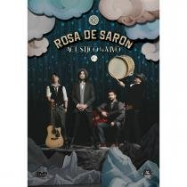DVD Rosa de Saron - Acústico e ao Vivo 2/3 - Canção Nova