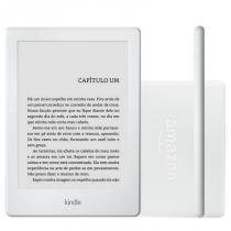 "E-reader Amazon Kindle 8ª Geração Branco 4GB com Tela Touchscreen 6"" e Wi-Fi - Amazon"